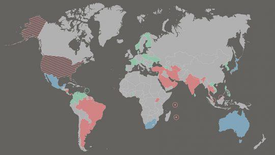 Quelles sont les interdictions de vapoter dans le monde ?